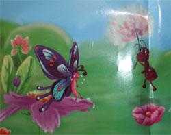 小蚂蚁和蒲公英