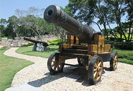 城堡的大炮