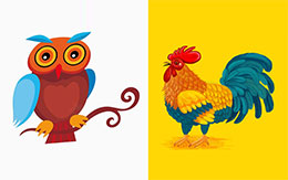 公鸡和猫头鹰的争论