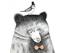 想成为一只鸟儿的熊