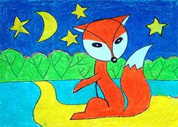 小狐狸看海
