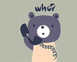 小熊和电话机露姆