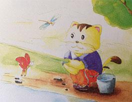 小猫钓鱼(短)