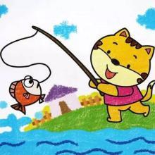 小猫钓鱼(长)