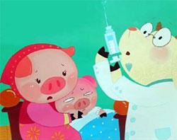 一只想生病的猪
