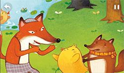 狐狸想学游泳