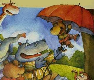河马先生的大雨伞