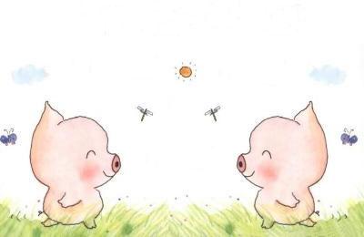 两只小猪减肥记