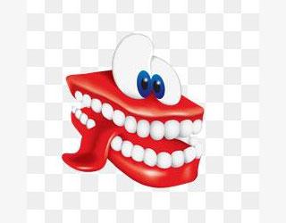 舌头和牙齿