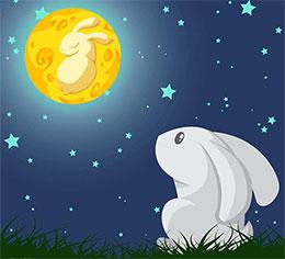 我的月亮分给你