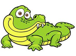从前,有一只不敢买雪糕的小鳄鱼……