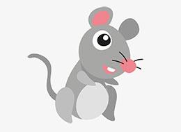 红颜色的小老鼠
