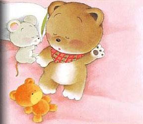 手帕老鼠与小布熊