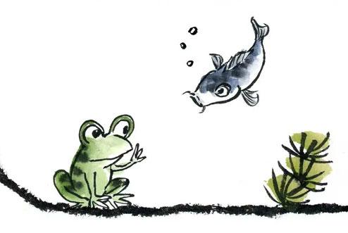 小鲤鱼跳栅栏