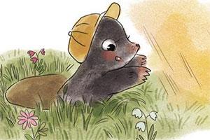 小鼹鼠只需一捆夕阳的光芒