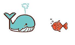 鲸鱼和小鱼