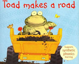 小蟾蜍开路 Toad makes a road