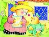 熊奶奶捎给小熊的吻