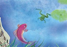 小青蛙找朋友