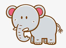 小象的鼻子为什么很长