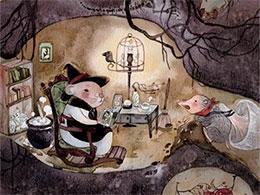 爱打洞的小鼹鼠莫索