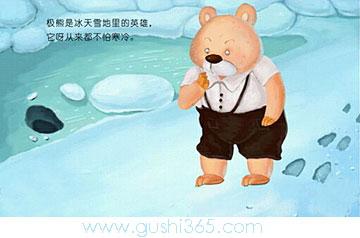 北极熊的棉鞋
