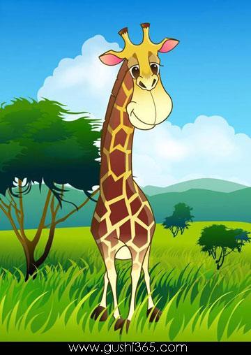 长颈鹿的脖子为什么这么长