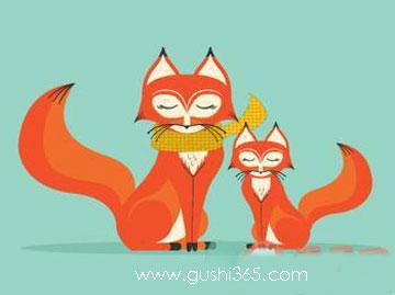 狐狸的母爱