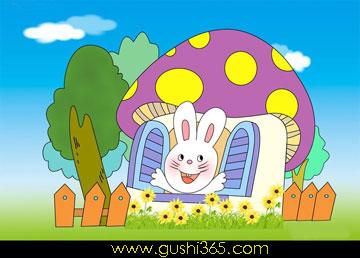 兔子的爱心伞