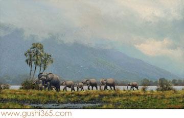 大象、小象和人