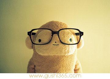 猴子和他的眼镜