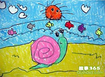 小蜗牛看海