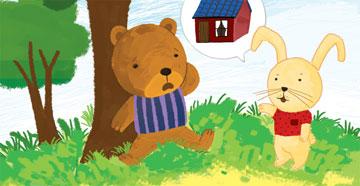 小熊盖房子