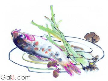 郑板桥吃鱼的故事
