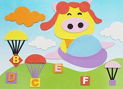 飞上天空的小猪