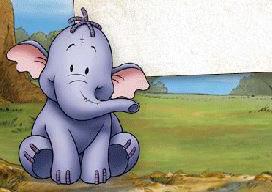 独自在家的小象