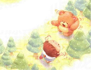 安安变成小熊