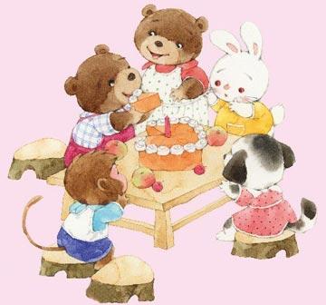 袋鼠奶奶的蛋糕