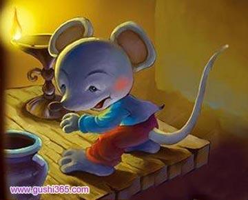 胆小先生和老鼠