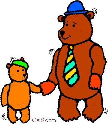 熊爸爸讲故事(烟斗里的星星,缩写)