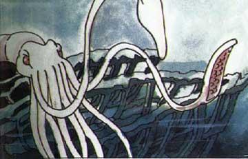 抹香鯨戰大章魚