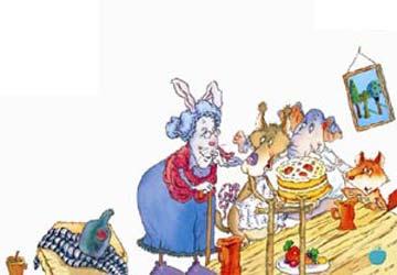 大嘴巴狼烤蛋糕(图片)