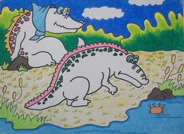 鳄鱼的孩子