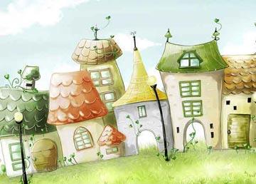 小动物建房子