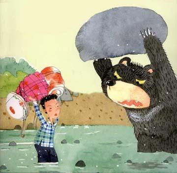 与狗熊比举重