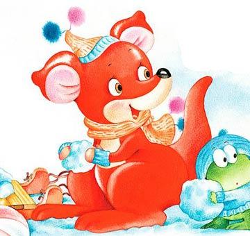 熱心的紅袋鼠