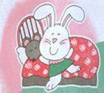 儿童童话故事月光洒在花床上