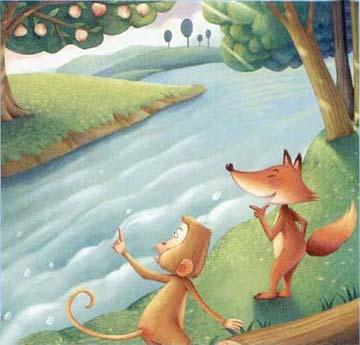 狐狸和猴子