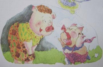 爱攀比的呼噜猪