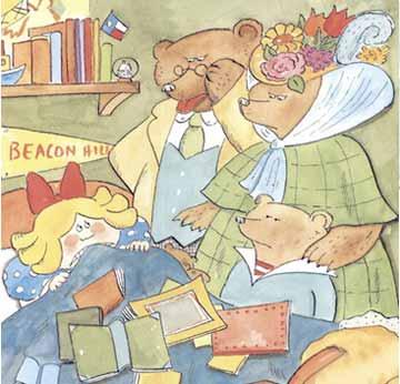 金发女孩和三只熊